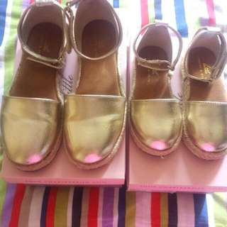 Little Charles & Keith Flats/covered/D'orsay Shoe