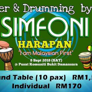 Charity Event Simfoni Harapan Dinner & Drumming