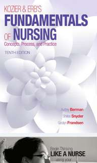 Fundamentals of Nursing 10th Ed PDF copy