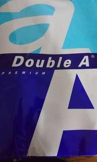 Double a a3影印紙