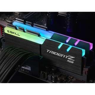 G.SKILL Trident Z RGB 3000MHZ 16GB(8Gx2) Dual channel (Last stock:2)