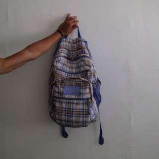 JANSPORT CHECKERED BAG