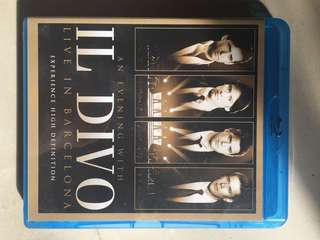 An Evening With Il Divo Live in Barcelona Blu-Ray DVD