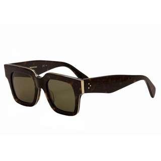 Celine CL 41097 Z06 70 Dark Havana Brown SUNGLASSES
