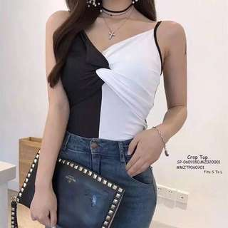 CROPTOP Fits S To L  Price : 300