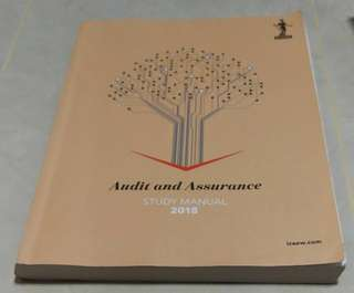 ICAEW Audit and Assurance Study Manual 2018