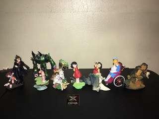 World Masterpiece Theater / Tezuka Animation Figures