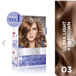 Loreal Paris Excellence Fashion Ultra Lights (03 Ash Brown)