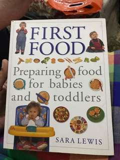 first food - preparing food for babies and toddlers