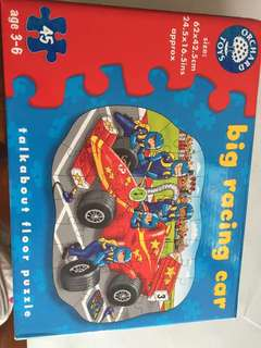 Orchard Toys Big Racing car puzzle