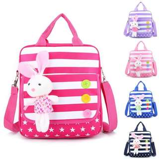 Little Rabbit Plush Tuition Bag
