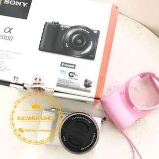 SonyA5100 white16 -50 lens SH  二手⭐️