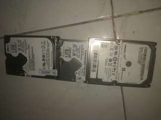 HDD LAPTOP 1 TB MERK SAMSUNG