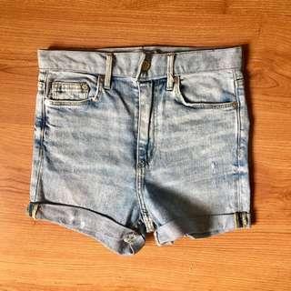 Zara HW shorts