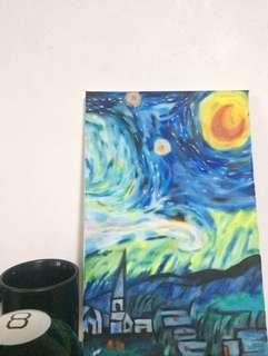 Van Gogh inspired painting