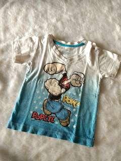 Baby popeye shirt