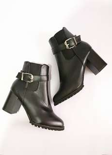 Black Boots with Heels RUSH SALE