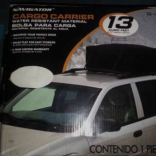 Navigator roof bag cargo carrier
