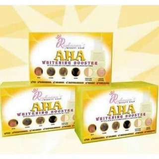 AHA SOAP WHiTENiNG BOOSTER