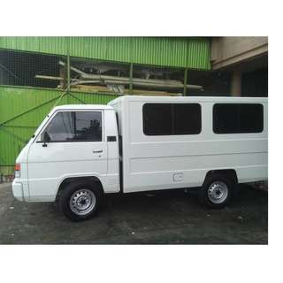 4wheeler L300 Van (8ft x 4ft x 4ft) for rent