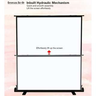 [BIGSHINE] 100 Inch Portable Projector Screen