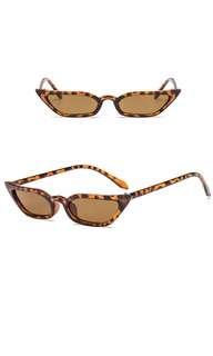 Retro Micro Cat Eye Sunglasses 90s