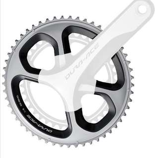 Shimano Dura Ace fc 9000 mid compact CHAINRINGS only(52/36)