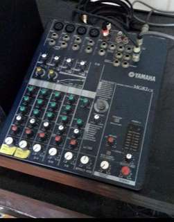 Yamaha MG82CX Input Stereo Mixer with Digital Effects