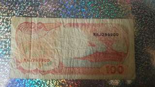 Old note Indonesia