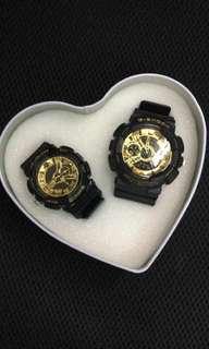 Couple watch Gshock