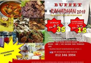 Promosi nak Raya Kach'E Buffet Ramadan