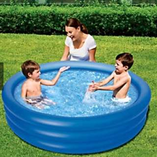 Kids Childrens Bestway 3 Ringed Inflatable Swimming Paddling Pool