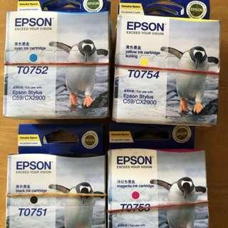 Epson Stylus C59/ CX2900 Ink Cartridges