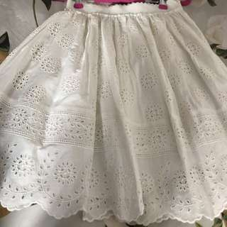New Blumarine crochet skirt very pretty sz38