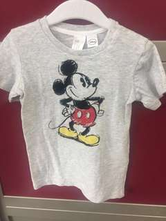 H&M  Grey T-shirt (12-18M)