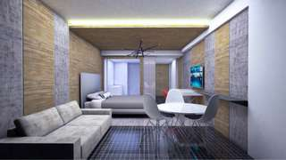3D model render perspective visual