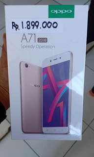 Oppo a71 bisa credit