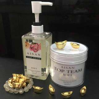 Aisan Top Team Shampoo N Hair Mask