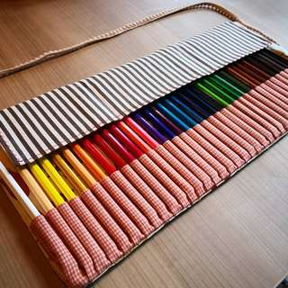 36 Colour Pencils Pouch