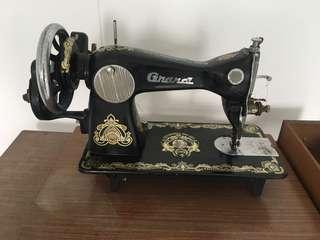 Antique Sewing Machine Set