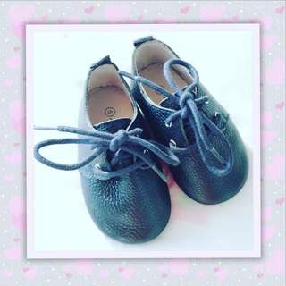 Leather Lace Up Shoes for Boys & Girls
