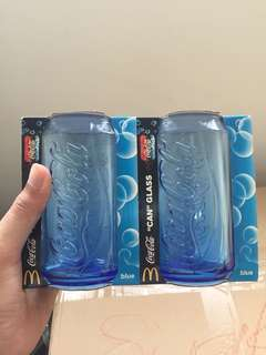 McDonald's Blue 'Can' Glass (2011)