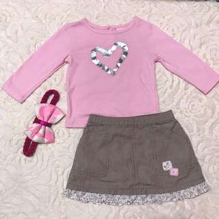 Little Lass and Carters Set