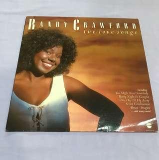Vinyl Record Randy Crawford - Love Songs LP