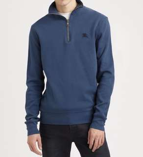 Burberry Brit Quarter Zip Pullover Sweater
