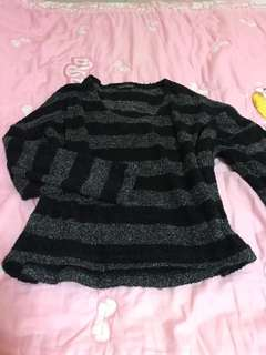 Knitted sweater Free size