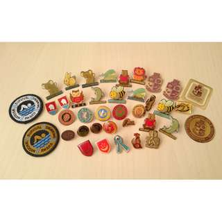 Random pins and badges
