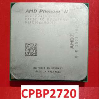 For Sale Processor PHENOM II X3 720 BE with free cooling fan