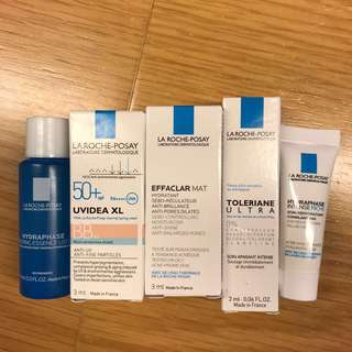 5個$30 La Roche-Posay samples 試用裝
