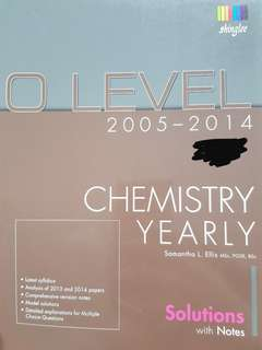 O Level Chemistry Notes and Solutions